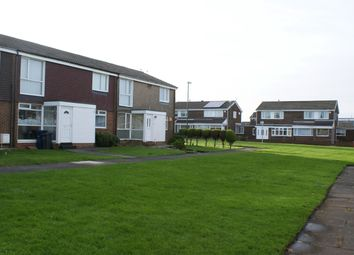 Thumbnail 2 bed flat to rent in Chichester Way, Fellgate Estate, Jarrow