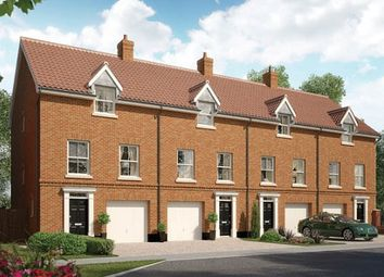 Thumbnail 3 bedroom terraced house for sale in The Flordon, Oakley Park, Mulbarton, Norfolk