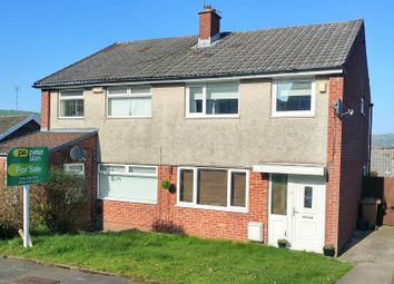 Thumbnail 3 bed semi-detached house for sale in Caernarvon Court, Hendredenny, Caerphilly