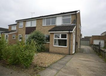Thumbnail Semi-detached house to rent in Orwell Close, Raunds, Northamptonshire