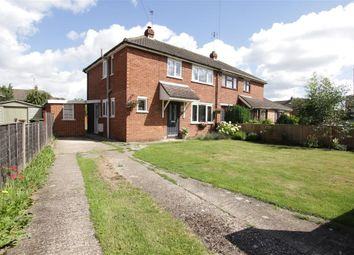 Thumbnail 3 bed semi-detached house for sale in Purley Way, Pangbourne, Reading