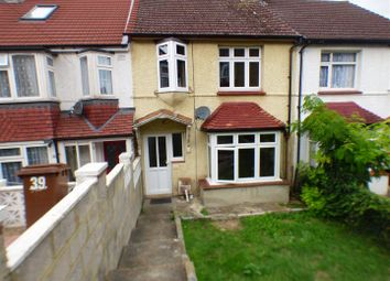 Thumbnail 3 bed terraced house to rent in Purbeck Road, Chatham