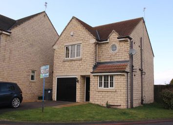 Thumbnail 3 bed detached house to rent in Elm Close, Rossington, Doncaster