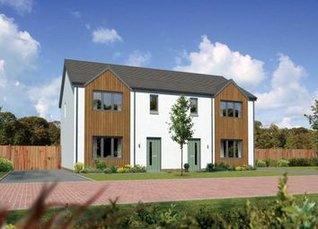 "Thumbnail 3 bed semi-detached house for sale in ""Caplewood"" at Greystone Road, Alford"