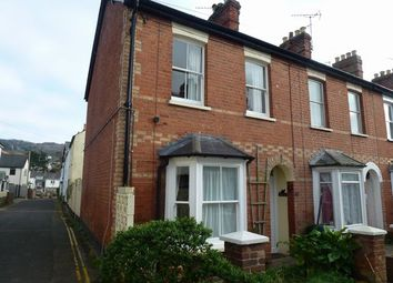 Thumbnail 2 bed end terrace house to rent in Newtown, Sidmouth