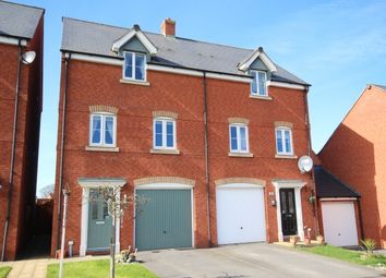 Thumbnail 3 bed town house for sale in Sorrel Drive, Bridgwater