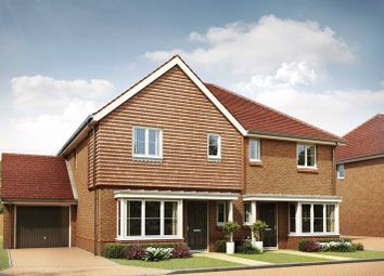 Thumbnail 3 bed semi-detached house for sale in St Johns Way, Edenbridge, Kent