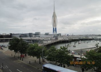 Thumbnail 2 bed flat to rent in The Hard, Portsmouth