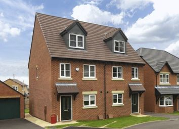 Thumbnail 3 bed town house for sale in 51 Vesey Court, Wellington, Telford