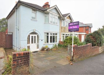 Thumbnail 3 bedroom semi-detached house for sale in Castle Road, Southampton