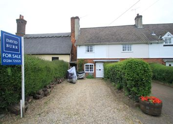 Thumbnail 3 bedroom end terrace house for sale in Cockfield, Bury St Edmunds, Suffolk