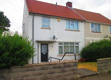 Thumbnail 3 bedroom semi-detached house for sale in Penderry Road, Penlan, Swansea, City And County Of Swansea.