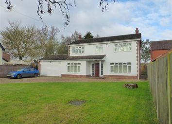 Thumbnail 4 bedroom detached house for sale in Dukes Lane, Caston, Attleborough
