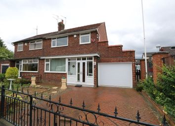 Thumbnail 3 bed semi-detached house for sale in Ashwood Avenue, Denton, Manchester