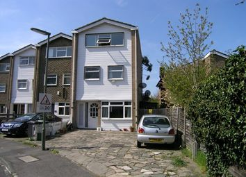 Thumbnail 4 bed town house to rent in Badgers Copse, Worcester Park, London