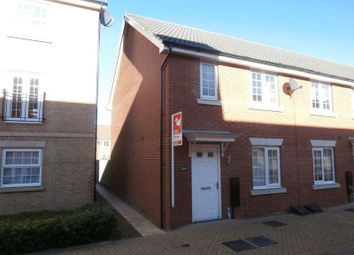 Thumbnail 3 bed terraced house to rent in Pacey Way, Grantham