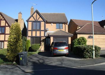 Thumbnail 4 bedroom detached house for sale in Wesley Way, Markfield