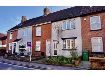 3 bed terraced house for sale in Funtley Road, Funtley, Fareham PO17