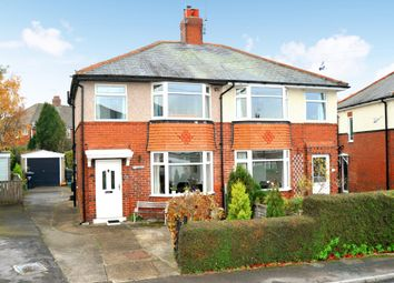 Thumbnail 3 bed semi-detached house for sale in Harlow Park Crescent, Harrogate