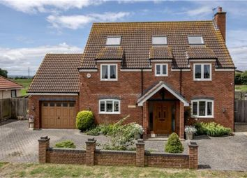 Thumbnail 5 bed detached house for sale in Catcott Road, Burtle, Bridgwater, Somerset