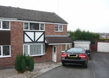 Thumbnail 3 bed semi-detached house to rent in Cotswold Close, Swadlincote