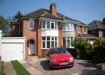 Thumbnail 3 bed semi-detached house to rent in Arnold Road, Shirley, Solihull