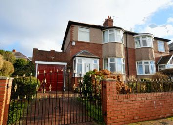 Thumbnail 3 bedroom semi-detached house for sale in Burnopfield Gardens, Denton Burn, Newcastle Upon Tyne