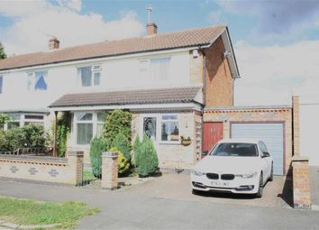 Thumbnail 3 bed semi-detached house for sale in Wellesbourne Drive, Glenfield, Leicester