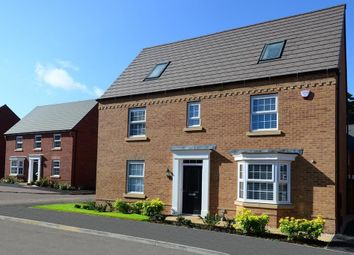 "Thumbnail 5 bedroom detached house for sale in ""Moorecroft"" at Main Road, Earls Barton, Northampton"