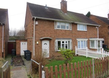 Thumbnail 2 bed semi-detached house for sale in Bowman Road, Great Barr, Birmingham
