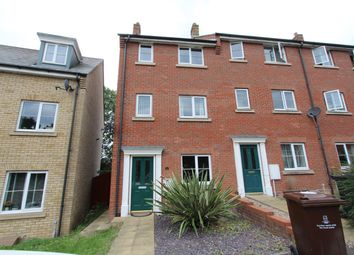 Thumbnail Town house to rent in Bradford Drive, Colchester