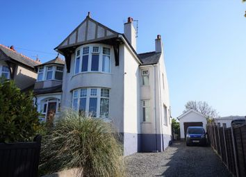 Thumbnail 3 bed semi-detached house for sale in Porth Y Felin Road, Holyhead