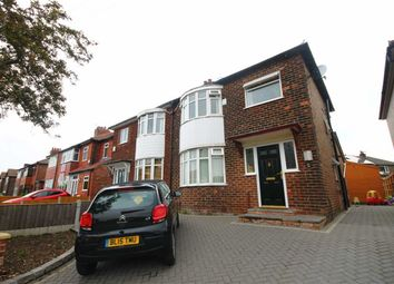 Thumbnail 3 bed semi-detached house to rent in Halesden Road, Stockport
