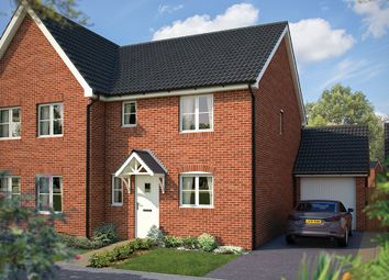 "Thumbnail 3 bed semi-detached house for sale in ""The Southwold"" at Cleveland Drive, Brockworth, Gloucester"