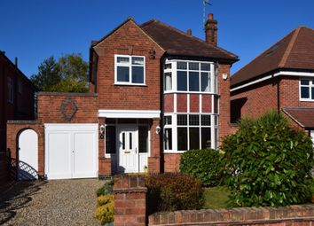 Thumbnail 3 bed detached house for sale in Oakfield Avenue, Birstall, Leicester