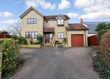 Thumbnail 4 bed detached house to rent in Hamerton Road, Alconbury Weston, Huntingdon, Cambridgeshire