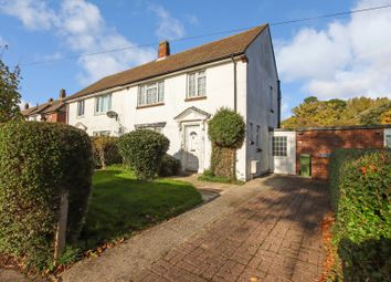 Thumbnail 3 bed semi-detached house for sale in Winnards Park, Sarisbury Green, Southampton