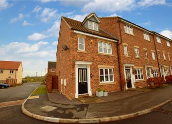 Thumbnail 4 bedroom end terrace house for sale in Pilgrims Way, Gainsborough