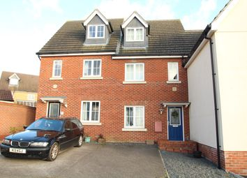 Thumbnail 3 bed town house for sale in Partridge Close, Stowmarket