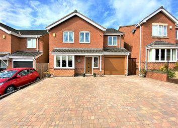 Thumbnail 4 bed detached house for sale in Church Farm Road, Ripley