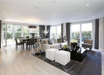 Thumbnail 3 bed flat for sale in Halcyon Close, Royal Swiss Development, London