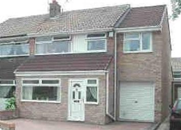Thumbnail 3 bed semi-detached house for sale in Escombe Road, Billingham