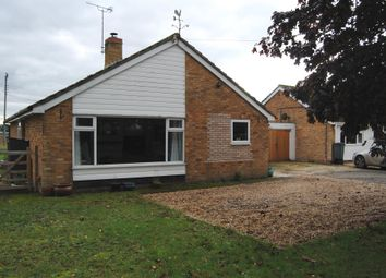 Thumbnail 3 bed detached bungalow for sale in Common Road, Hopton, Diss
