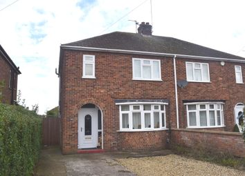 Thumbnail 3 bedroom semi-detached house for sale in Ayres Drive, Stanground, Peterborough