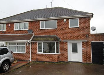 Thumbnail 3 bed semi-detached house to rent in Bewlys Avenue, Birmingham