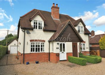 Thumbnail 2 bed semi-detached house for sale in Long Road West, Dedham, Colchester, Essex