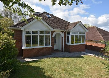Thumbnail 3 bedroom detached bungalow for sale in Wrefords Lane, Exeter