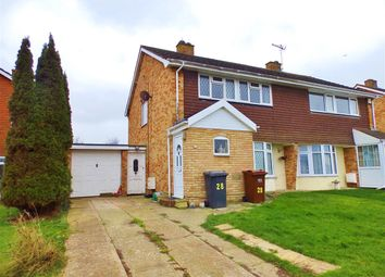 Thumbnail 3 bed semi-detached house for sale in Anderida Road, Willingdon, Eastbourne