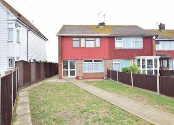 Thumbnail 3 bed end terrace house for sale in Edenbridge Drive, Sheerness, Kent