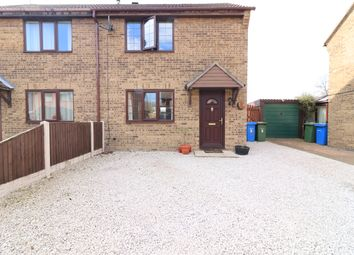 Thumbnail 2 bed semi-detached house for sale in Woodhall Green, Retford